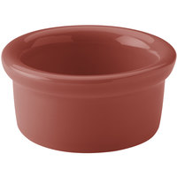 Hall China 30366334 Paprika 5 oz. Colorations Round China Ramekin - 24/Case