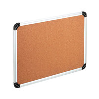 Universal UNV43714 48 inch x 36 inch Cork Board with Aluminum Frame