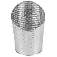 Tablecraft GTSS28 9.5 oz. Stainless Steel Round Fry Cup