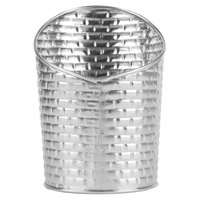 Tablecraft GTSS28 Brickhouse Collection 9.5 oz. Stainless Steel Round Fry Cup