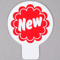 Deli Tag Topper - NEW - Red