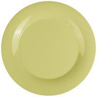 GET WP-12-AV Avocado Diamond Harvest 12 inch Wide Rim Plate - 12/Case