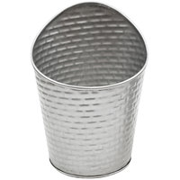 Tablecraft GTSS375 10 oz. Stainless Steel Round Fry Cup