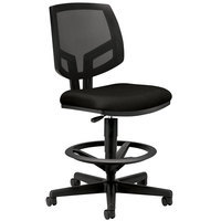 HON 5715GA10T Volt Series Black Mesh / Fabric Task Stool