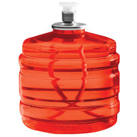 Sterno Products 30128 Soft Light 100 Hour Smokeless Red Liquid Candle Fuel Cartridge   - 12/Case