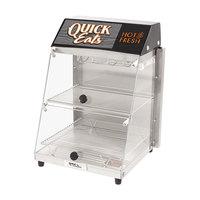 Global Solutions By Nemco GS1405 12 1/4 inch 2 Shelf Hot Food Merchandiser - 120V, 300W
