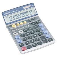 Sharp VX792C 12-Digit LCD Solar Battery Powered Portable Calculator