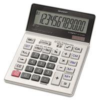Sharp VX2128V 12-Digit LCD Solar Battery Powered Commercial Desktop Calculator