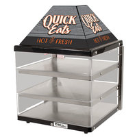 Global Solutions By Nemco GS1415 18 inch 3 Shelf Hot Food Merchandiser - 120V, 421W