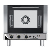 Global Solutions By Nemco GS1115 Half Size 3 Shelf Countertop Convection Oven with Broiler - 208-240V, 2750-2900W