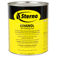 Sterno Products 20266 1 Gallon Ethanol Gel Chafing Fuel   - 4/Case