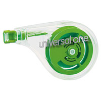 Universal UNV75610 1/5 inch x 393 inch Sideways Application Correction Tape - 6/Pack