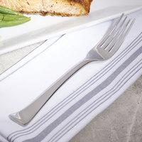 Bon Chef S3205 Aspen 7 7/8 inch 18/10 Stainless Steel Extra Heavy Dinner Fork - 12/Case