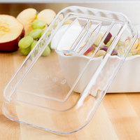 Cambro DCC5135 Clear Deli Crock Lid for 2.2 Qt. Deli Crocks