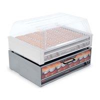 Nemco 8075-BW-220 Moist Heat Hot Dog Bun Warmer for 8075 Series Roller Grills - Holds 64 Buns