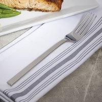 Bon Chef S3806 Milan 8 1/4 inch 18/10 Stainless Steel Extra Heavy European Size Dinner Fork - 12/Case
