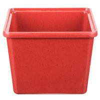 GET ML-149-RSP 2 Qt. Red Sensation Square Crock - 6/Case