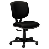 HON 5701GA10T Volt Black Task Chair with Swivel Base