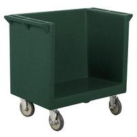 Cambro TDC2029192 Granite Green 38 inch x 22 inch x 34 inch Tray/Dish Cart