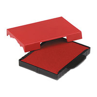 U. S. Stamp & Sign P5470RD 1 5/8 inch x 2 1/2 inch Red Self-Inking Dater Cartridge Refill