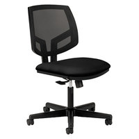 HON 5711GA10T Volt Black Mesh Back Task Chair with Black Seat