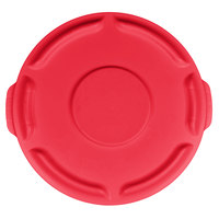 Rubbermaid FG260900RED BRUTE Red 10 Gallon Trash Can Lid