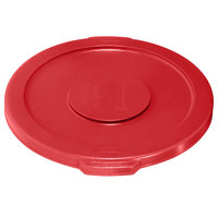 Rubbermaid Brute FG260900RED Red 10 Gallon Trash Can Lid