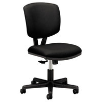 HON 5703GA10T Volt Black Synchro-Tilt Task Chair with Swivel Base
