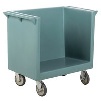 Cambro TDC2029401 Slate Blue 38 inch x 22 inch x 34 inch Tray/Dish Cart