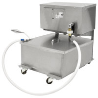 Dean MF90/80 80 lb. Portable Fryer Oil Filtration Machine with Reversible Pump - 120V