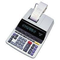 Sharp EL2630PIII 12-Digit Black / Red Two-Color Printing Calculator - 4.8 Lines Per Second