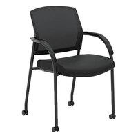 HON 2285VA10 Lota Black Mesh Guest Chair