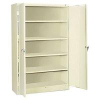 Tennsco J1878SUPY 48 inch x 18 inch x 78 inch Putty Jumbo Storage Cabinet