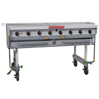 MagiKitch'n MCSS-30 32 inch Liquid Propane Stainless Steel Portable Outdoor Grill - 80,000 BTU