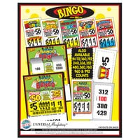 Bingo Pack 1 Window Pull Tab Tickets - 480 Tickets per Deal - $363 Total Payout