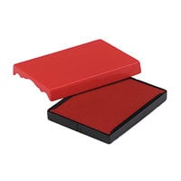 U. S. Stamp & Sign P4727RD 1 5/8 inch x 2 1/2 inch Red Self-Inking Dater Cartridge Refill