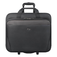 Solo CLS9104 Empire 16 3/4 inch x 7 inch x 14 3/8 inch Black Classic Rolling Case