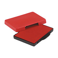 U. S. Stamp & Sign P5460RD 1 3/8 inch x 2 3/8 inch Red Self-Inking Dater Cartridge Refill