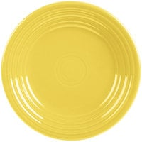 Homer Laughlin 465320 Fiesta Sunflower 9 inch Luncheon Plate - 12/Case
