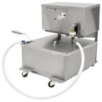 Dean MF90/110 110 lb. Portable Fryer Oil Filtration Machine with Reversible Pump - 120V