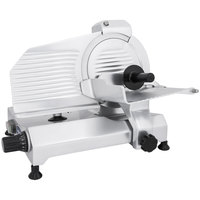 Globe Chefmate C9 9 inch Manual Gravity Feed Slicer - 1/4 hp