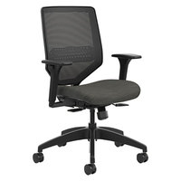 HON SVM1ALC10TK Solve Ink Mesh Task Chair with Swivel Base