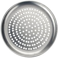 American Metalcraft PCTP6 6 inch Perforated Standard Weight Aluminum Coupe Pizza Pan