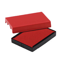 U. S. Stamp & Sign P4729RD 1 9/16 inch x 2 inch Red Self-Inking Dater Cartridge Refill