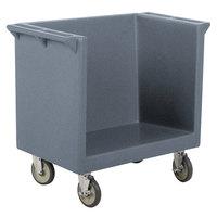 Cambro TDC2029191 Granite Gray 38 inch x 22 inch x 34 inch Tray/Dish Cart