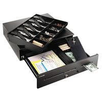 Steelmaster 2251060GT04 18 inch x 16 3/4 inch x 4 3/4 inch Black High-Security Cash Drawer
