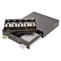 Steelmaster 225106001 Alarm Alert 17 11/16 inch x 15 3/4 inch Black Steel Cash Drawer
