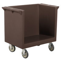 Cambro TDC2029131 Dark Brown 38 inch x 22 inch x 34 inch Tray/Dish Cart