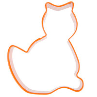 Wilton 2308-1302 3 inch Metal Cat Cookie Cutter