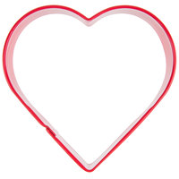 Wilton 2308-1301 3 inch Metal Heart Cookie Cutter
